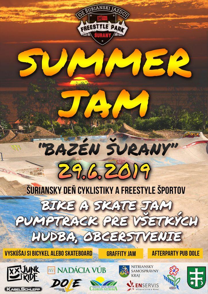 """50fd60f7f33a5 Predstavujeme SUMMER JAM, akciu vn ašom vonkajšom areáli Freestyle Park  """"Bazén"""" Šurany, ktorá otvorí letnú sezónu. Užite si skatepark a pumptrack v  pôvodnom ..."""